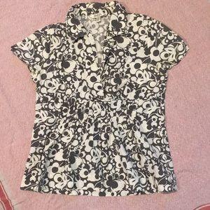 Printed old navy shirt